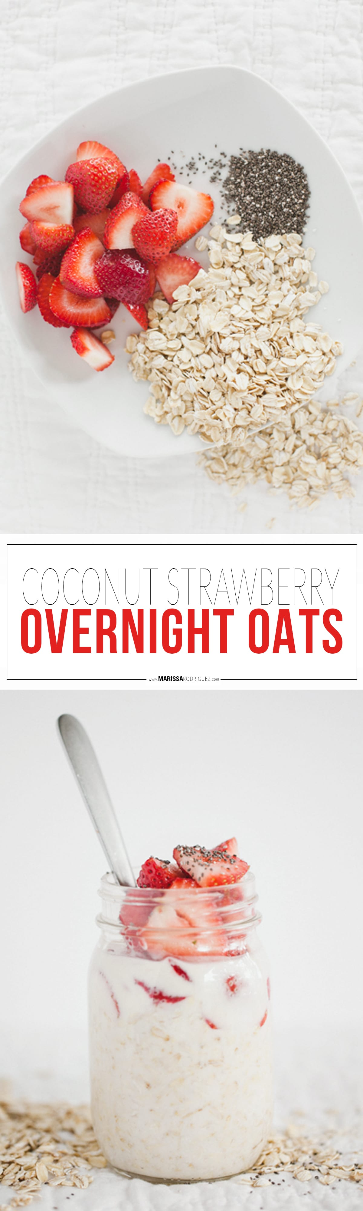 Coconut Strawberry Oatmeal