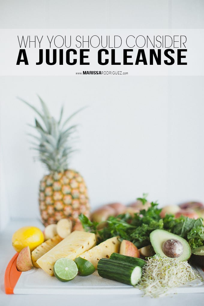 Why You Should Consider a Juice Cleanse