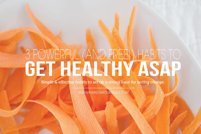 get healthy asap