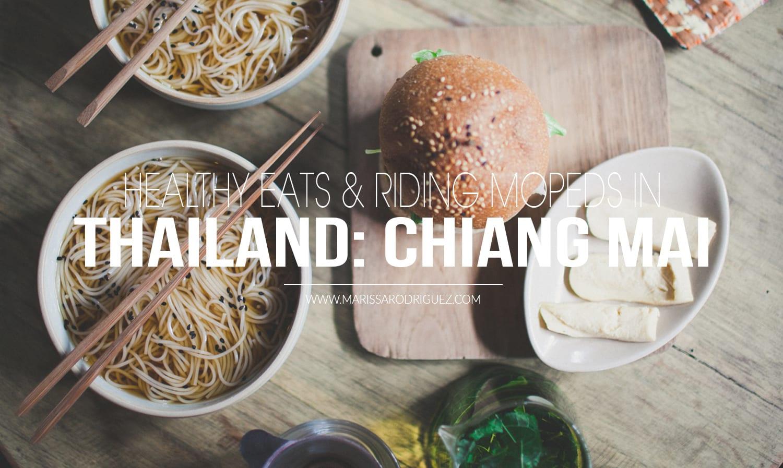 Thialand chiang mai healthy eating