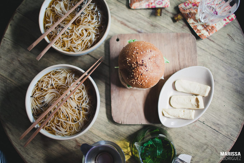 healthy vegan lunch chiang mai thailand