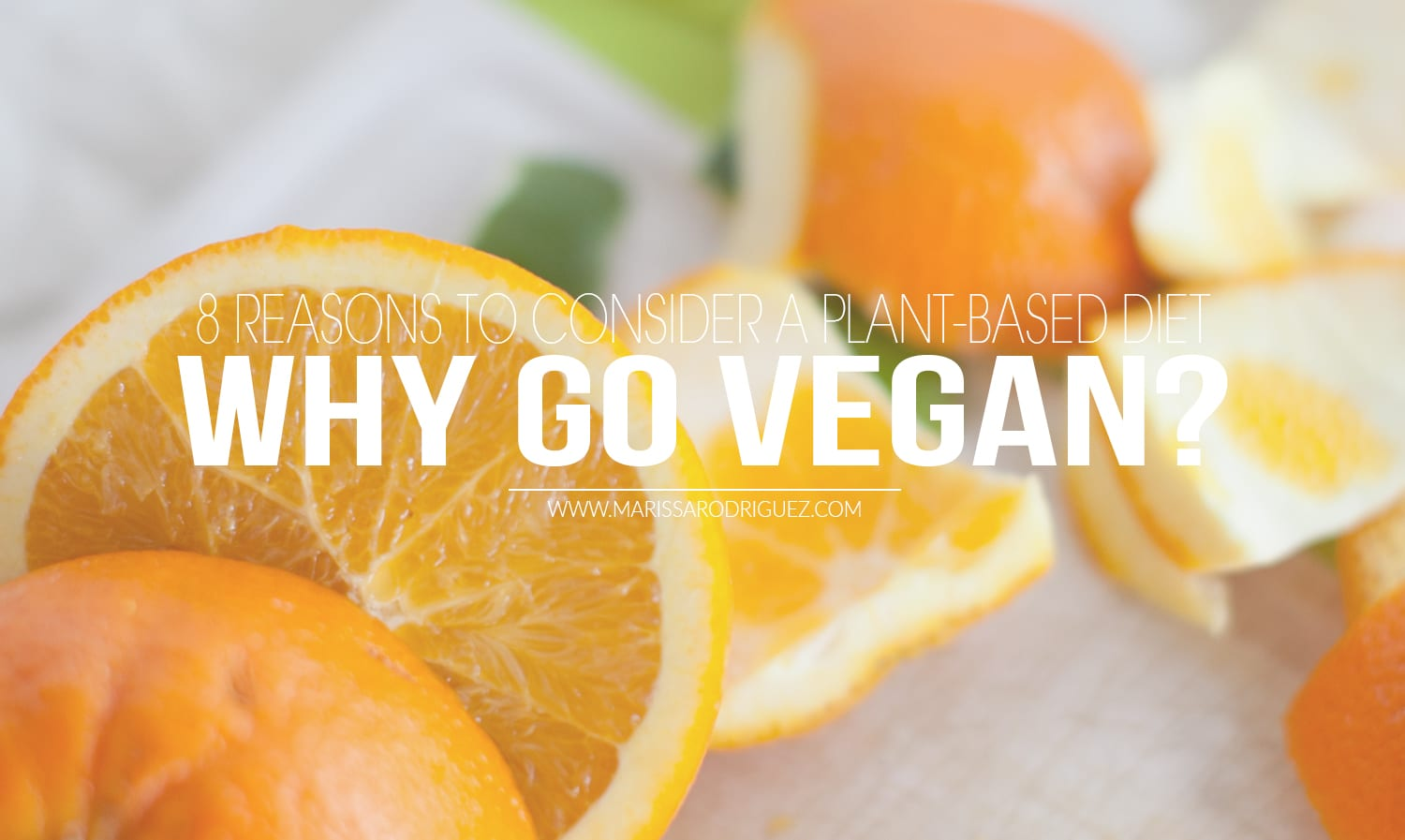 why go vegan? why go plant based? VEGAN PLANT BASED