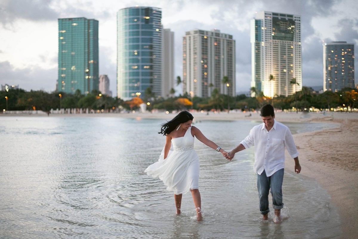 ALA MOANA BEACH PARK ANNIVERSARY: IRIS & JOSE