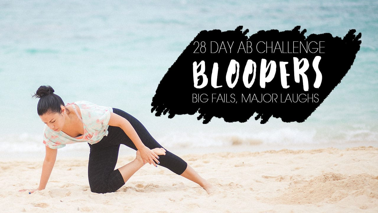 BLOGILATES ADORE THE CORE: AB CHALLENGE BLOOPERS