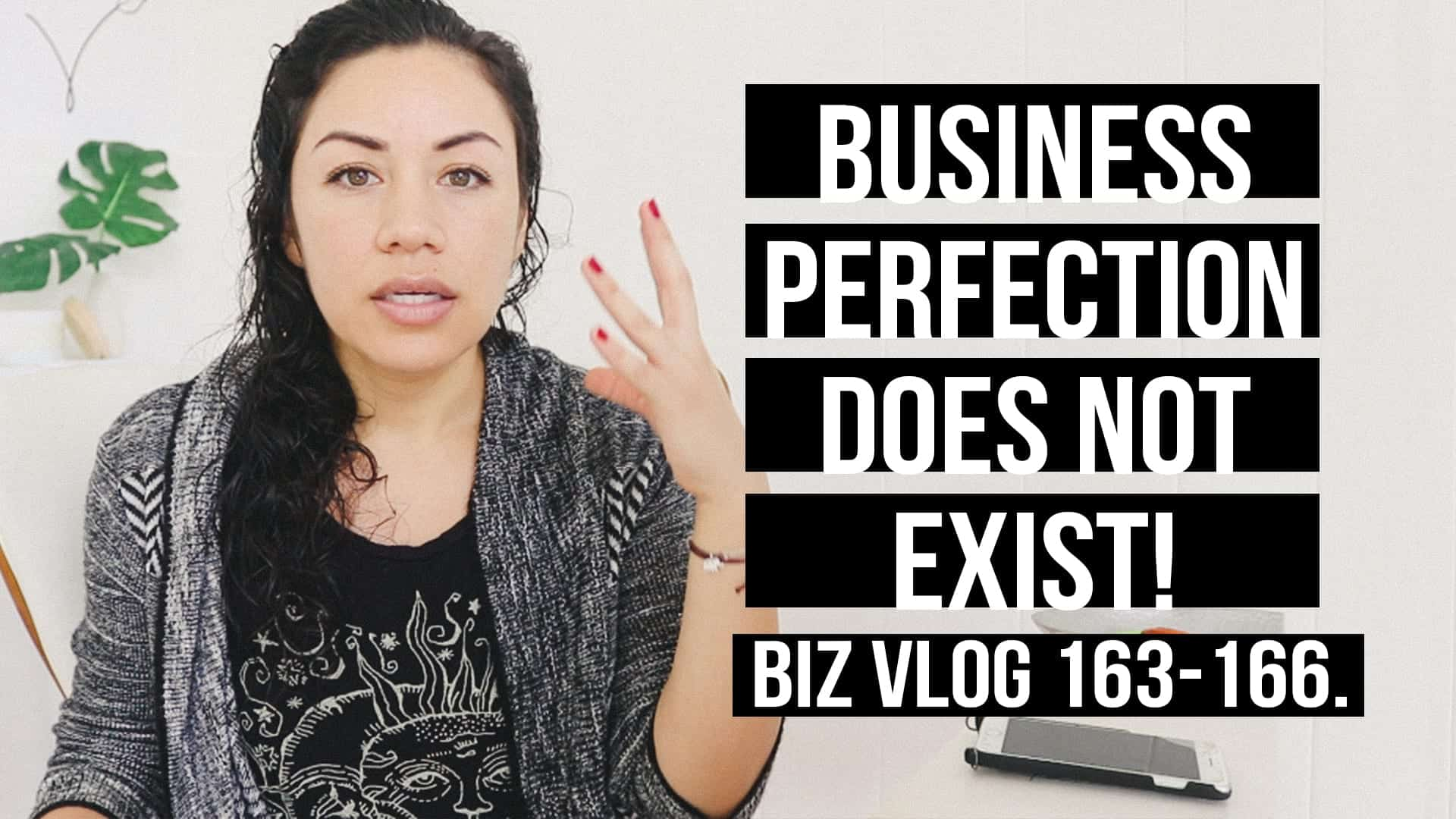 BUSINESS PERFECTION DOES NOT EXIST! BIZ VLOG 163-166.